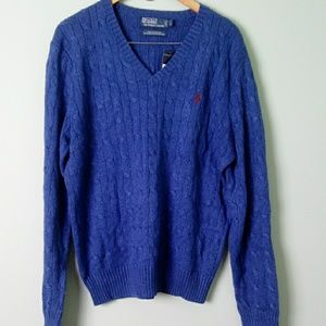 New Polo by Ralph Lauren size large silk sweater